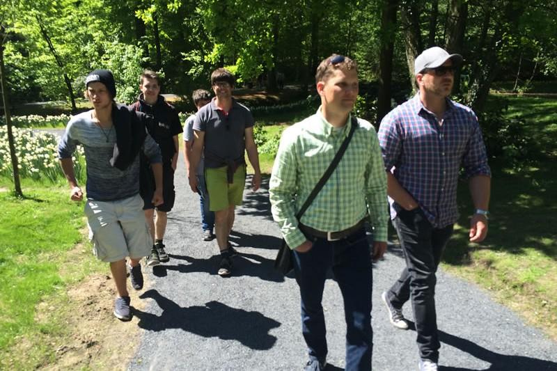 grewe-Mitarbeiter auf der Landesgartenschau 2018