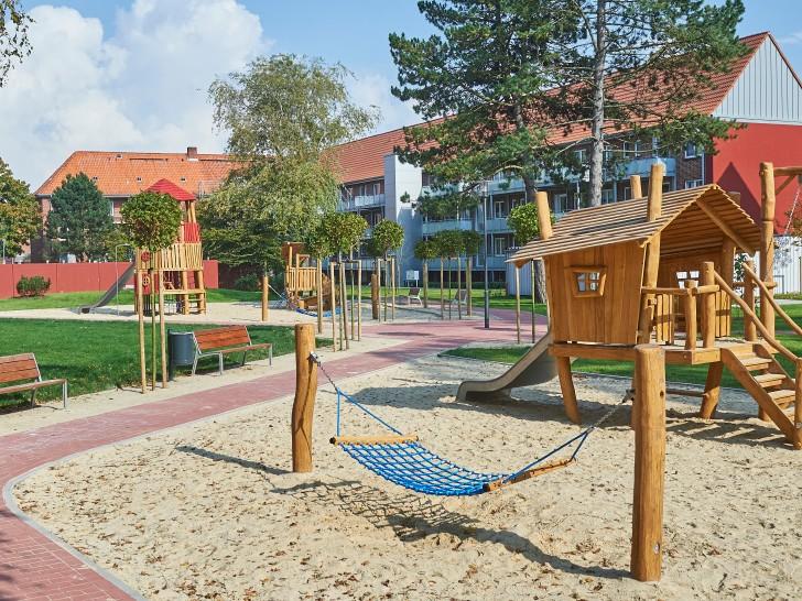 Spielplatz, erbaut durch die grewe-gruppe