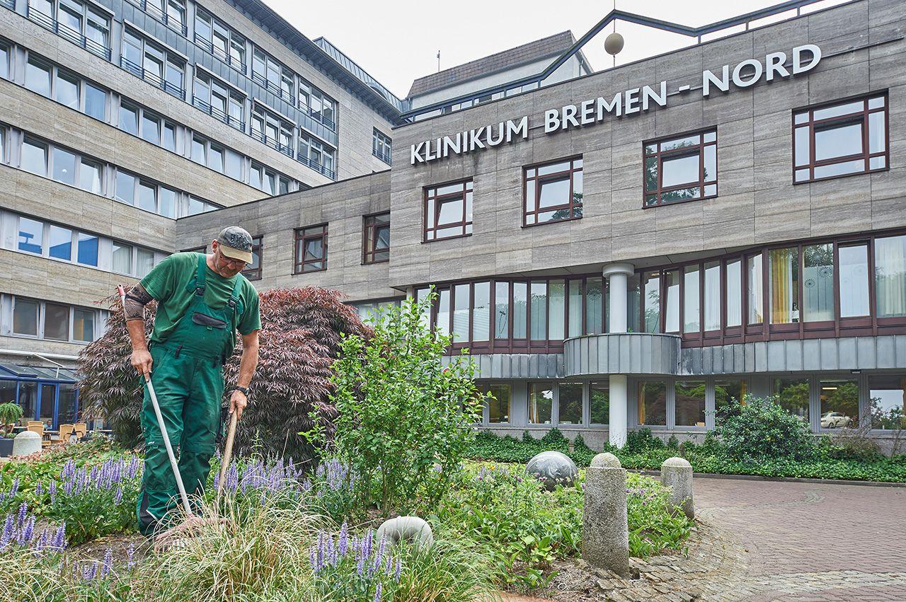 Eingang Klinikum Bremen-Nord