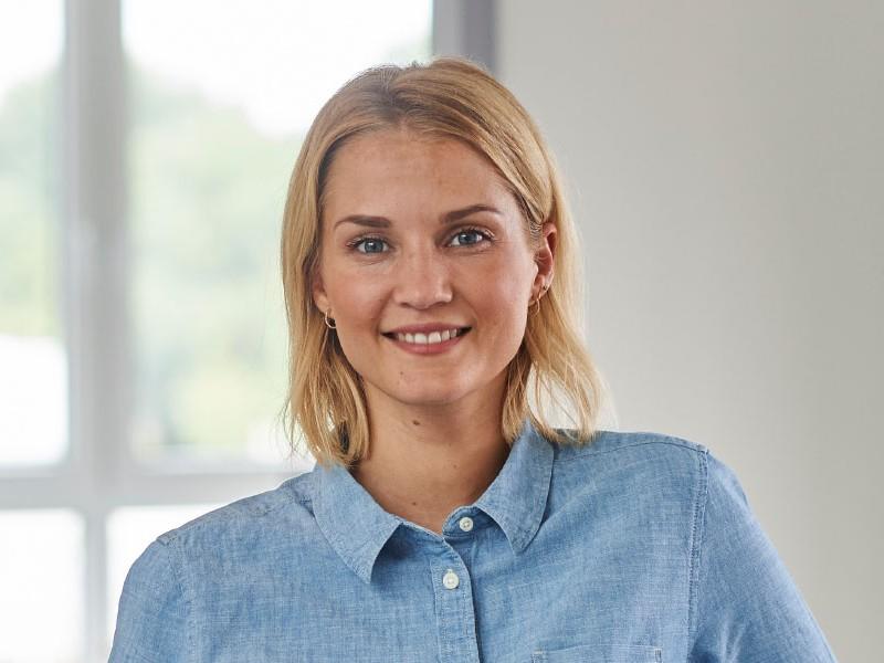 Janine Kiupel arbeitet für die grewe-gruppe