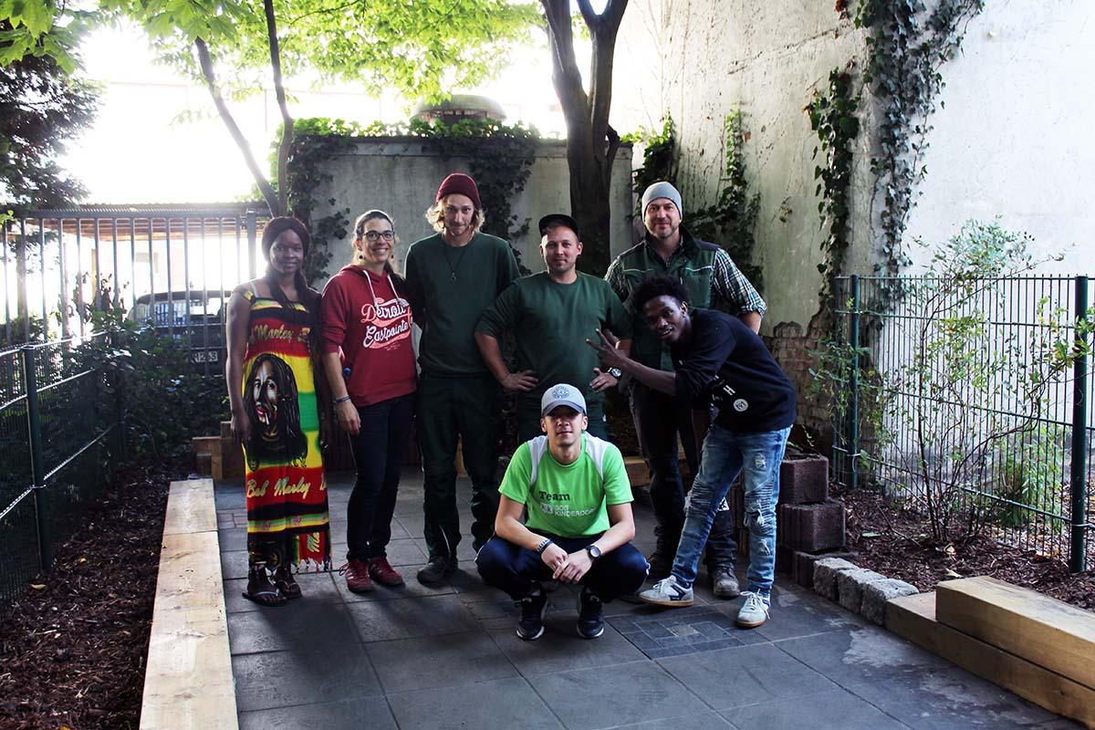Innenhof-Umgestaltung im SOS-Kinderdorf Bremen