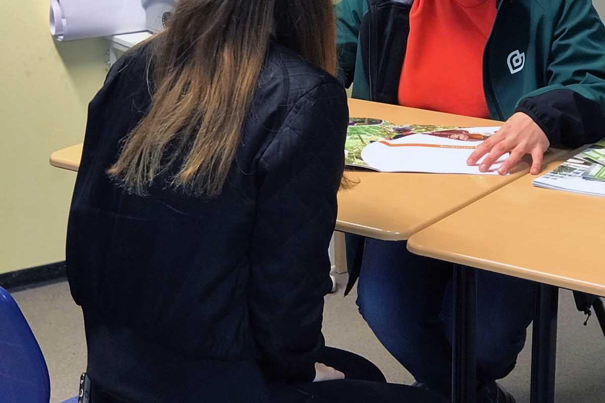 grewe-gruppe als Aussteller bei der 15. Ausbildungsmesse in Rotenburg